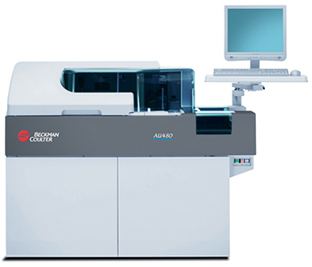 Beckman Coulter AU480 Chemistry Analyzer